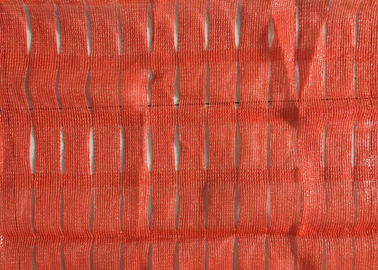 Cina Road Pool Plastik Orange Pagar, Bahan Daur Ulang Orange Barrier Fencing pabrik